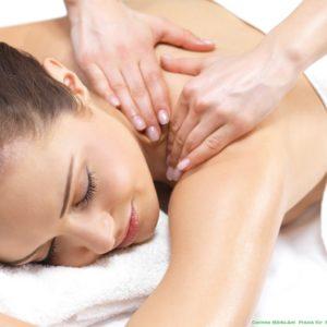 Rug- en schouder massage